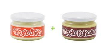 Masło Kakaowe Kosmetyczne 200g + Shea 200g