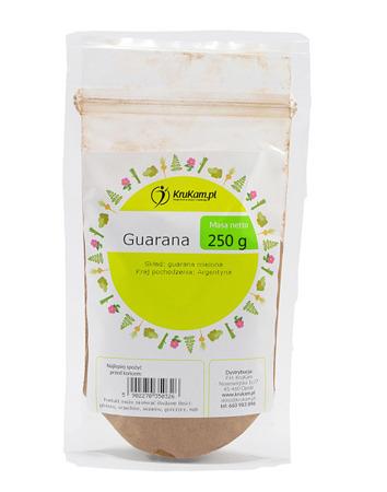 Guarana proszek 250g drobno mielona