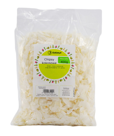 Chipsy kokosowe KOKOS 400g