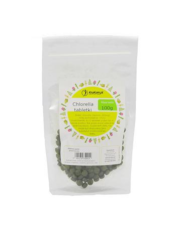 Chlorella tabletki 100g